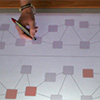 Investigating Multi-Touch and Pen Gestures for Diagram Editing on Interactive Surfaces