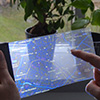 Towards Interaction with Transparent and Flexible Displays