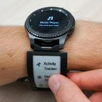 Watch+Strap: Extending Smartwatches with Interactive StrapDisplays