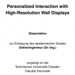 Personalized Interaction with High-Resolution Wall Displays