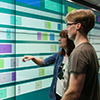 Challenges in Personalized Multi-user Interaction at Large Display Walls