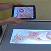 Tangible displays for the masses: spatial interaction with handheld displays by using consumer depth cameras