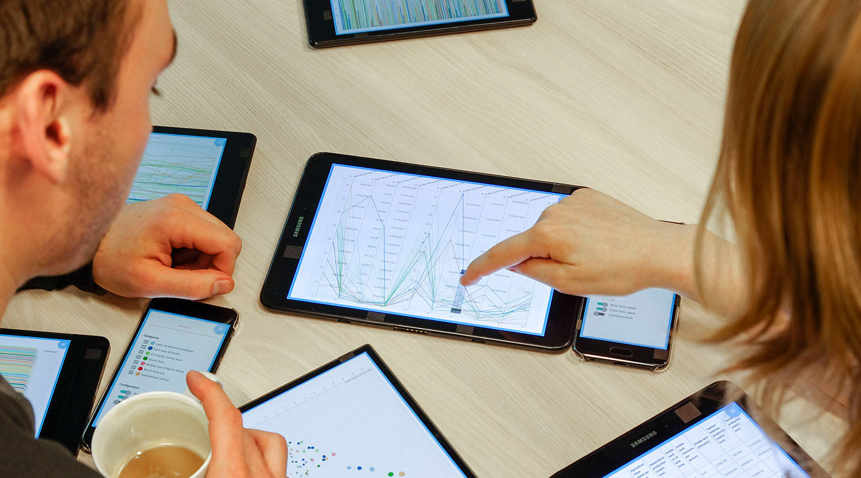 Vorschau für das Forschungsprojekt: Visual Data Analysis in Device Ecologies (Tom Horak)